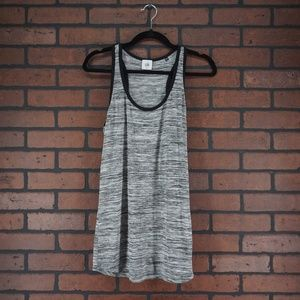 CABIi #3085 Spaced Dyed Horizontal Tank Top Small